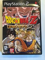Dragonball Z Budokai 2 - Playstation 2 - Replacement Case - No Game