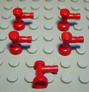 Lego-Horn-Wasserhahn-Rot-5-Stueck-1088-CQ
