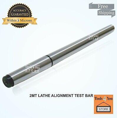 "EN31 ALLOY STEEL OAL 442mm 5MT LATHE ALIGNMENT TEST BAR MT5 17-1//2/"""