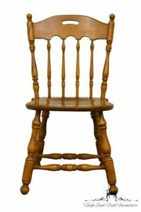 ETHAN ALLEN Heirloom Nutmeg Maple Colonial Style Accent ...