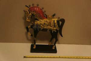 Pier 1 Imports Metal Horse Sculpture Colorful Decoration (SKU 1988726)