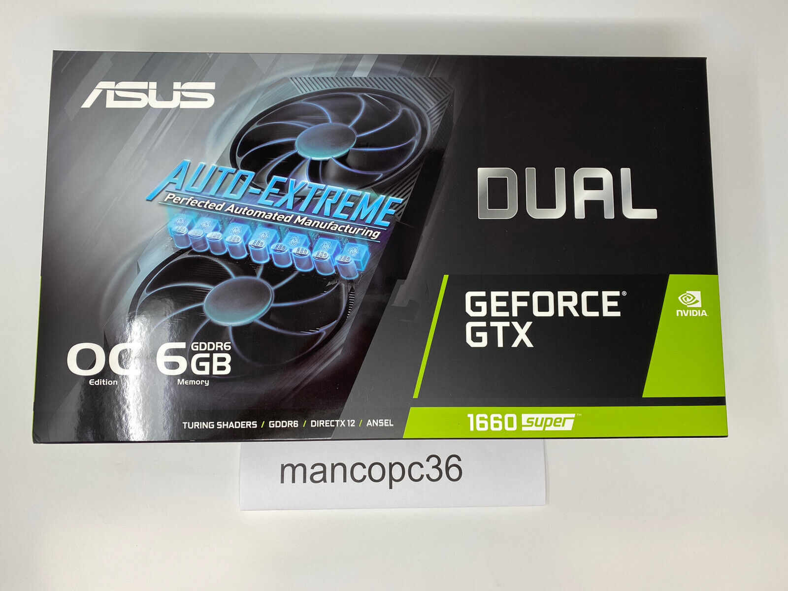 ASUS NVIDIA GeForce GTX 1660 SUPER 6GB Graphics Card OC EDITION SHIPS SAME DAY