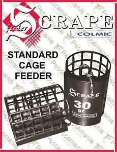 Pasturatore-STANDARD-CAGE-FEEDER-Colmic-Scrape-28X50mm-30-40-50gr-gabbietta