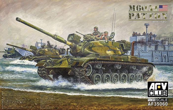 1 35 AFV Club M60A1 Patton Medium Tank
