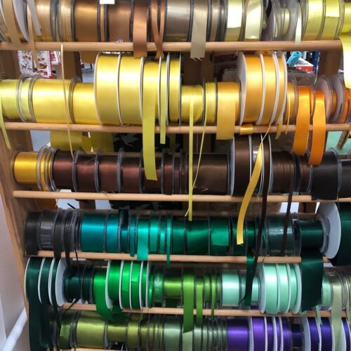 Cut To Order Berisfords Double Satin Ribbon 35 Shades 7 Widths Free Postage