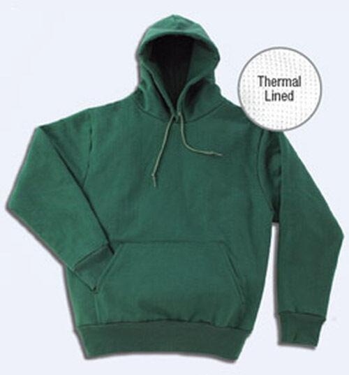 Herren Thermal Extra Hwt PO Hooded Sweatshirt  S-7XL