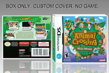 "NINTENDO DS : ANIMAL CROSSING. UNOFFICIAL COVER. ORIGINAL BOX. ""NO GAME""."