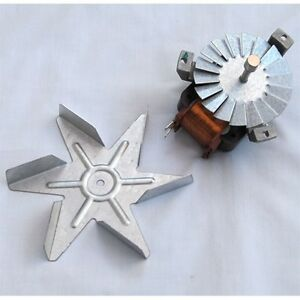 GENUINE-STOVES-BELLING-DIPLOMAT-COOKER-FAN-OVEN-MOTOR-amp-FAN-NEW-BLADE-AHY18