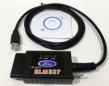 FORScan ELM327 USB, OBD II Diagnose Gerät Modifiziert fur Ford und Mazda, WOW