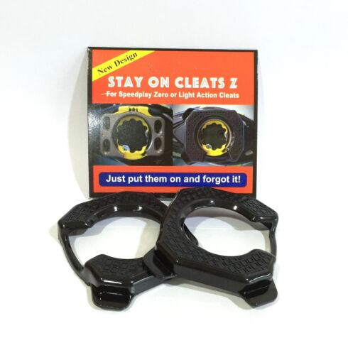 Stay On Cleats for Speedplay Zero or Light Action Cleats Protection Cover Black