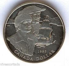 Canada 1 Dollaro 1995 argento PROOF @@ Scopritori @@