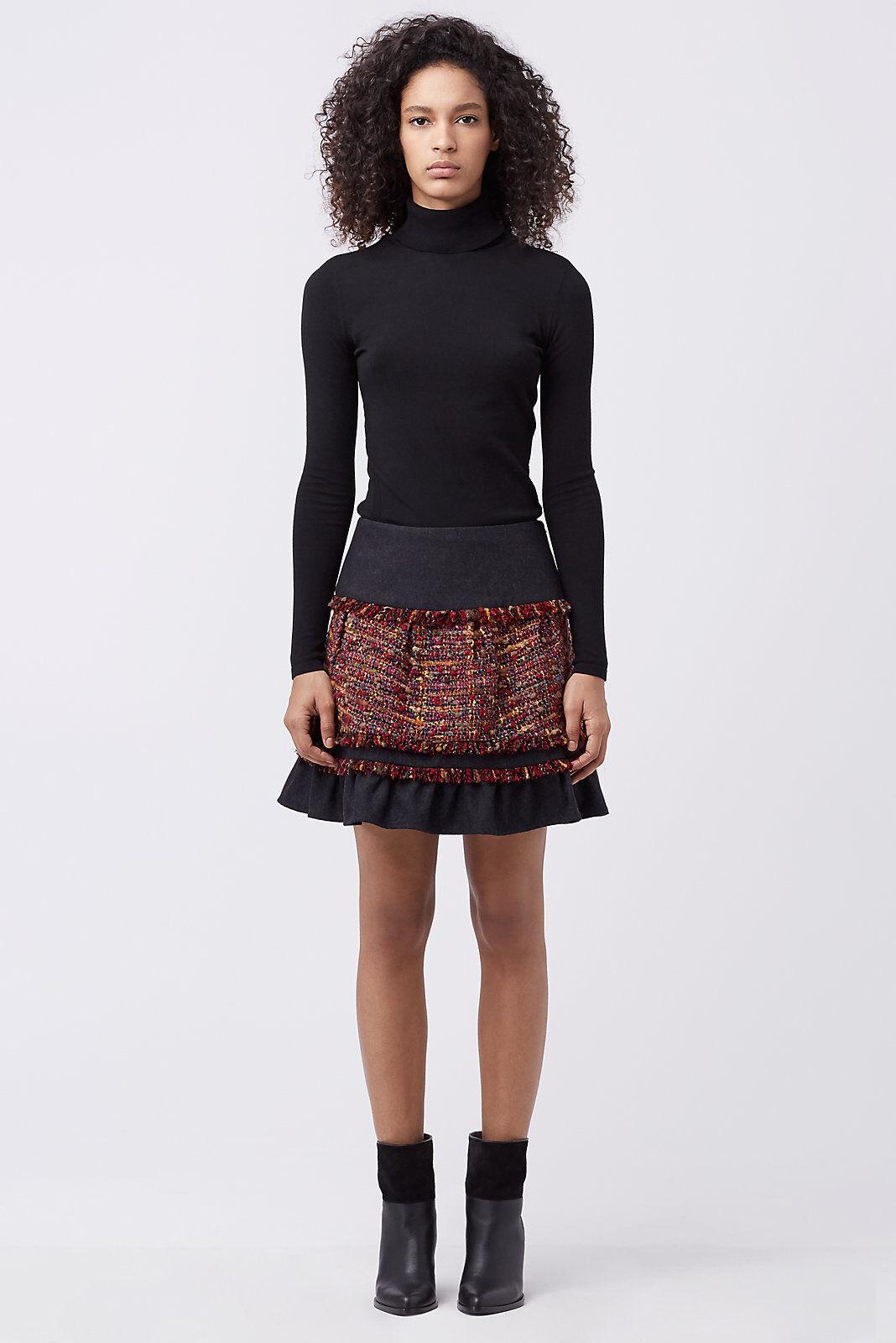 NWT Diane von Furstenberg Keely Tweed Skirt  398 – 2, 6, 8, 10, 12, 14