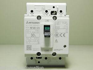 TESTED - Mitsubishi NO-Fuse Breaker Model NF30-CS 30A   eBay