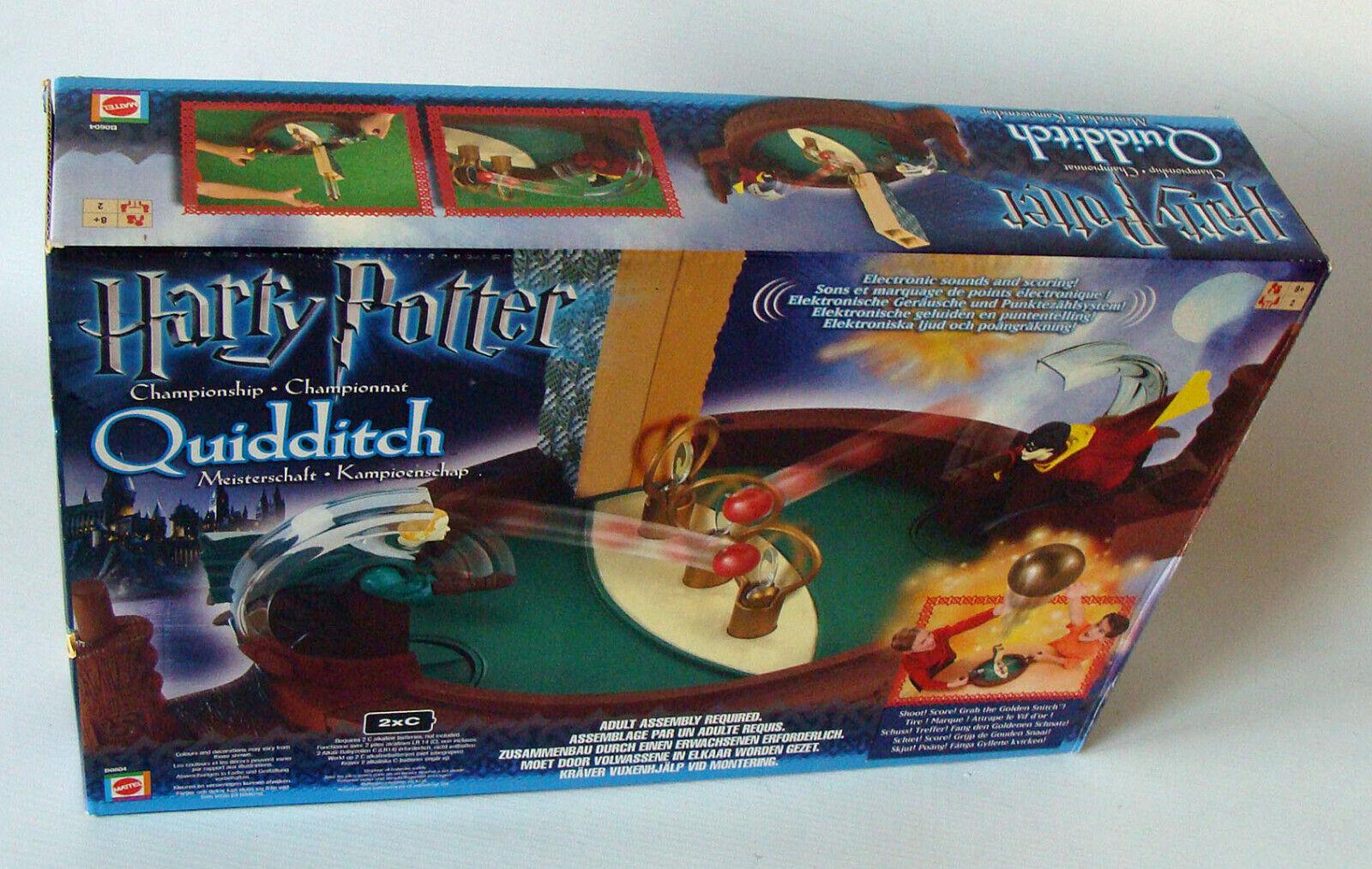 MATTEL b0604-Quidditch Meisterschaft per 2 giocatori 8+ USATO