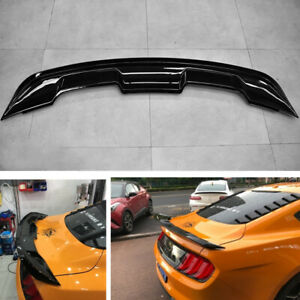 For-2015-2020-Ford-Mustang-Coupe-GT500-Style-Trunk-Spoiler-Wing-Gloss-Black-ABS
