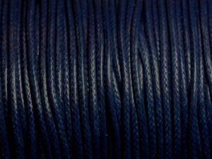 5-metres-Cordon-Coton-Cire-2mm-Bleu-Marine-4558550016089