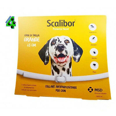 3 Collari Scalibor Collare Antiparassitario Per Cani Cane Di Taglia Grande 65 Cm Ampia Selezione;