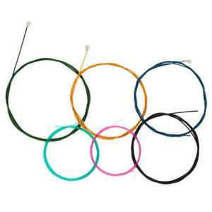 Strings-di-chitarra-classica-in-nylon-multicolore-per-set-di-chitarra-a-6