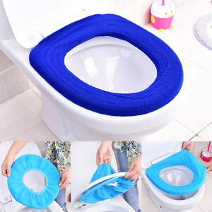 1PC-Warm-Toilet-Mat-Cover-Bathroom-Soft-Closestool-Protector-Seat-Lid-Pad-Random