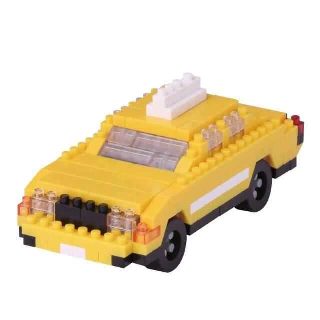 Nanoblock New York Taxi Puzle con Mini Ladrillos 180 Piezas NBH-114 Nuevo