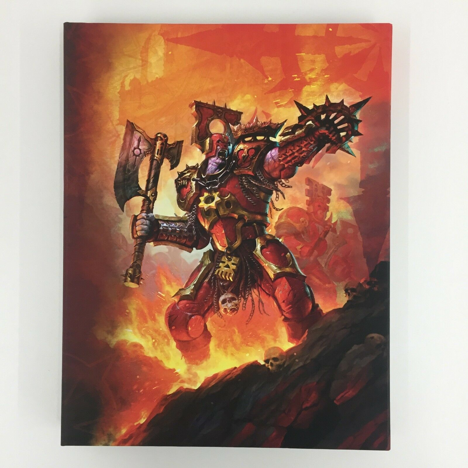 WARHAMMER Age of Sigmar limited edition chaos battletome Khorne Bloodbound 2015
