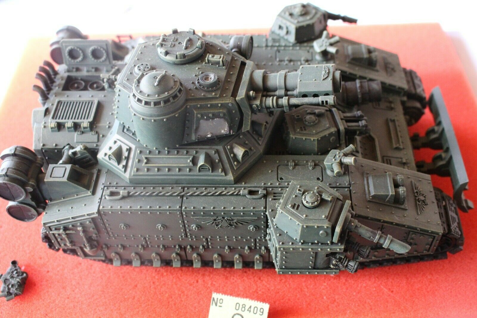 Games Workshop Warhammer 40k Hellhammer Tank Astra Militarum Militarum Militarum Part Painted GW ad82d5