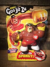 Heroes of Goo Jit Zu Brawler Plazma Smash Attack Spongy Bear Figure Hero Pack