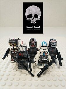 Star-Wars-The-Bad-Batch-Clone-Force-99-Minifigures-5-Set-USA-SELLER