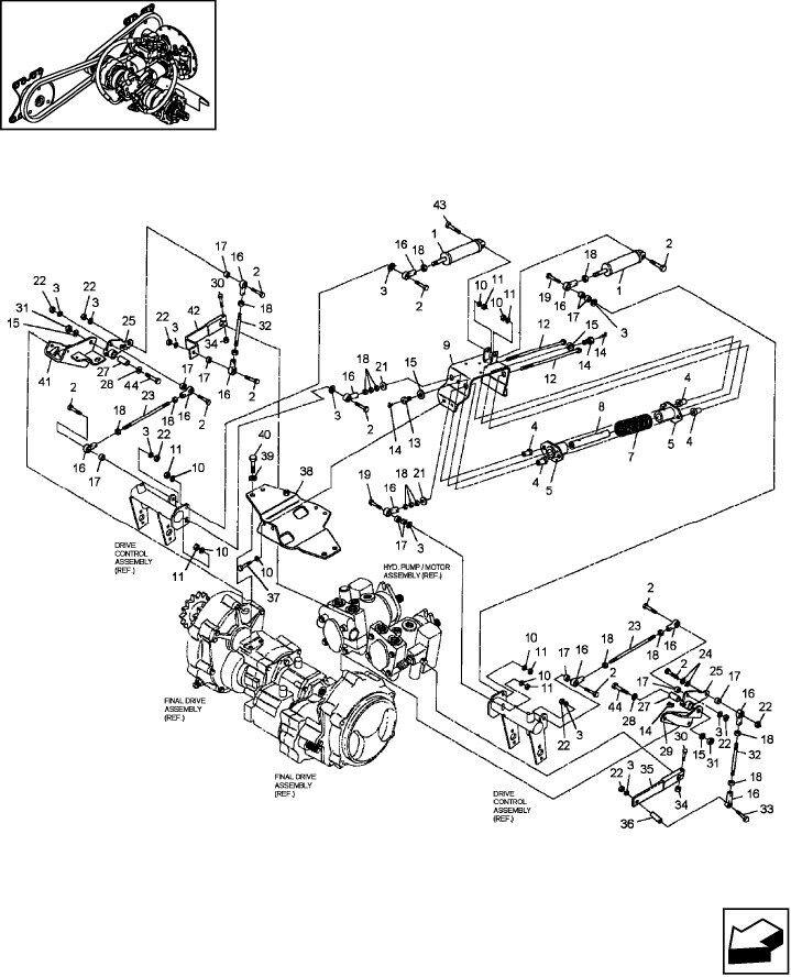 F Series Bobcat 873 Part Diagram