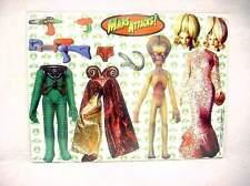 Mars Attacks 1996 Vintage Martian  Spy Girl Magnetic Dress up Kit Ata-Boy