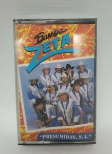 "Banda Zeta ""Presumidas, S.A."" Cassette Nuevo Sellado Fonovisa 1995 Rare OOP"