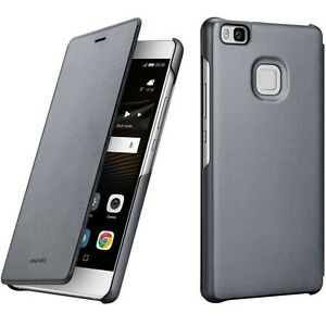 low cost 048d1 11edf Details about Genuine HUAWEI P9 LITE FLIP CASE original mobile smart cover  cell phone vns l31