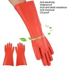 Electrical Insulated Rubber Gloves Electrician 12kv High Voltage Safety Gloves