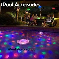 Multi-colored Underwater Light Show LED Lights Aqua Glow Pool Spa Pond hot tub