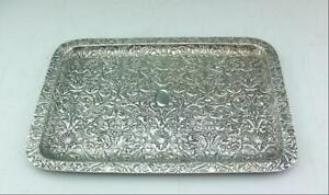 ANTIQUE-GLORIOUS-SOLID-SILVER-TRAY-BY-JAMES-DIXON-1905