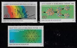 Nobelpijs Winnaars postfris BRD 1979 MNH 1019-1021 - (034)