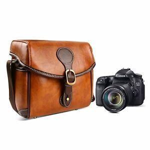 DSLR-Vintage-Camera-Bag-Shoulder-Bag-Satchel-Small-Handbag-Men-039-s-Bag-Women-039-s-Bag
