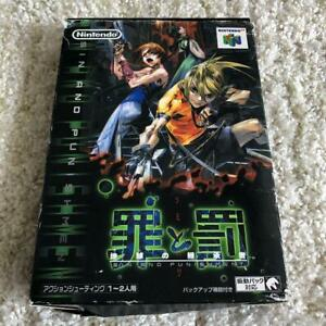 Nintendo64-N64-Sin-and-Punishment-Tsumi-to-Batsu-up-to-US-shortest-Next-day