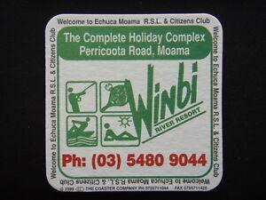 Winbi River Resort 0354809044 Echuca Moama Rsl Citizens Club