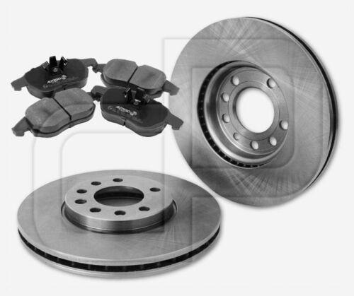 2 Bremsscheiben 4 Bremsbeläge OPEL Signum ohne Sportfahrwerk vorne 285 mm