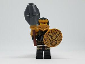 LEGO® Minifigur Ninjago Master of the Mountain Cole Hero njo606 71722 w weapon