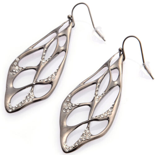 18k Rose Gold Plated or Rhodium Plated Earrings De Buman 18k Yellow Gold Plated