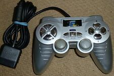 PLAYSTATION 2 PS2 WIRED CONTROLLER - Silver Game Control Pad GamePad Dual Analog
