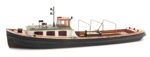 Schiff Artitec 50.106 Barkasse Spur H0 1:87 Bausatz unbemalt Resin Boot
