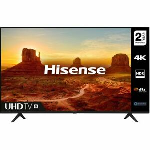 Hisense 65A7100FTUK 65 Inch TV Smart 4K Ultra HD LED Freeview HD 3 HDMI