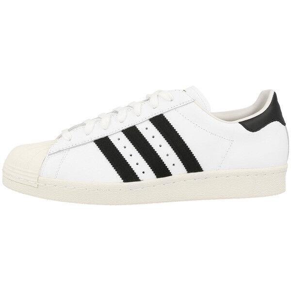 Zapatos promocionales para hombres y mujeres Adidas Superstar 80s Schuhe Retro Sneaker white black white Samba Spezial G61070