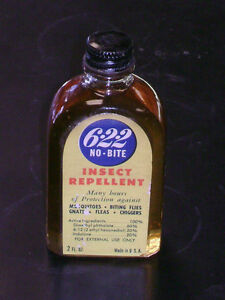 WWII US Army/USMC 622 No Bite Insect Repellent (new/never opened)