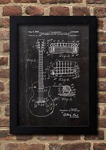 E-GITARRE-1953-Patent-Fine-Art-Print-Galeriequalitaet-A4-Kunstdruck-01