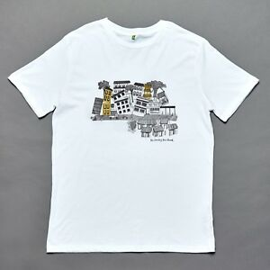 2351b7905 The Country That Shook | Cityscape Screen-printed T-shirt | organic ...