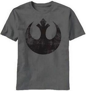 STAR-WARS-Rebel-Alliance-LOGO-TEE-Luke-Skywalker-FUNNY-Han-Solo-T-SHIRT-Rebels